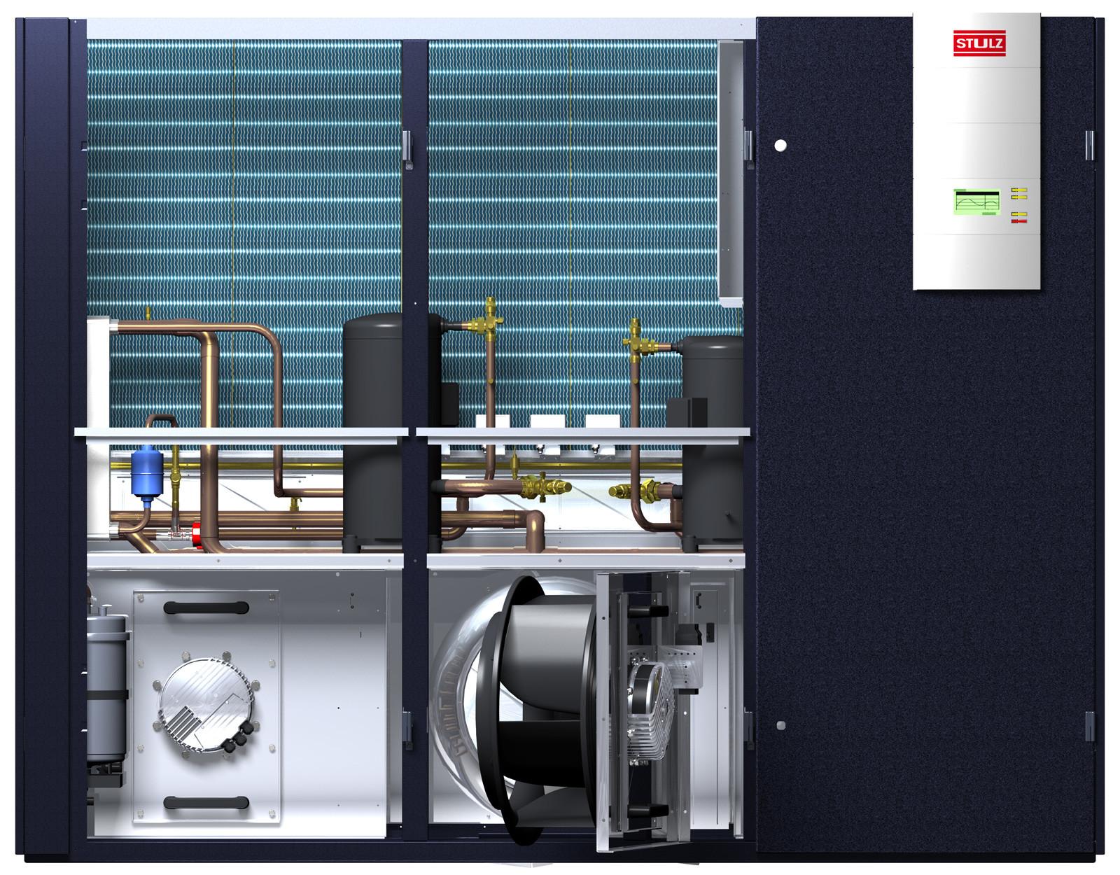 montaż klimatyzacji STULZ CyberAir3