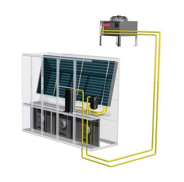 Stulz - System bezpośredniego odparowania DX - klimatyzacja do serwerowni